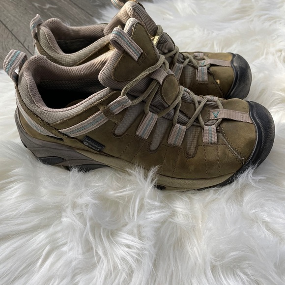 Keen targhee hiking boots outdoor waterproof